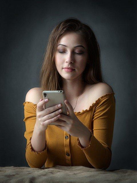 Girl Phone Smartphone Beauty