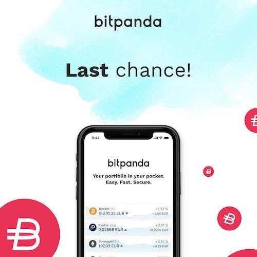 BitPanda Referral code Earn 10€ Limited Period offer