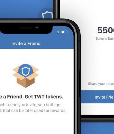 Twt trust wallet referral code link Referral Rewards