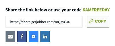 Share the jobber link