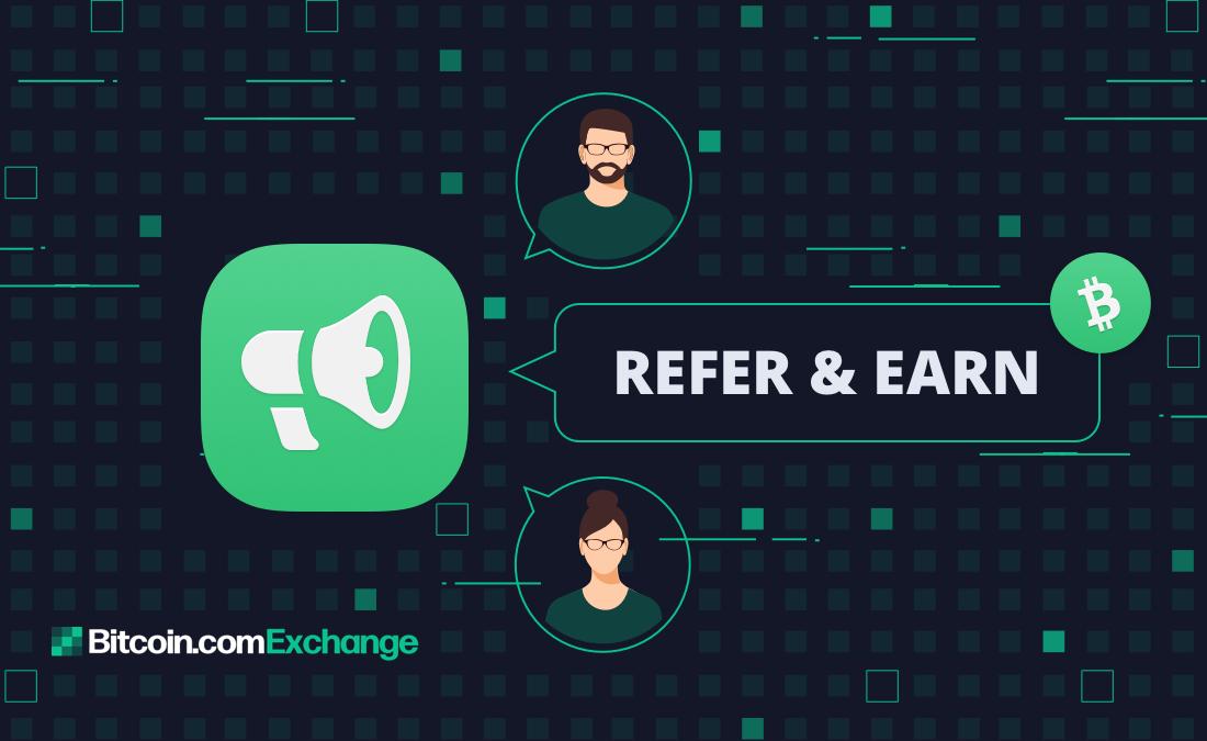 bitcoin.com referral code exchange