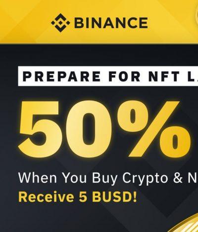Binance NFT Referral Code